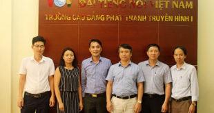 Trường cao đẳng Phát thanh Truyền hình I: Mở rộng và tăng cường hợp tác trong lĩnh vực đào tạo, nghiên cứu khoa học