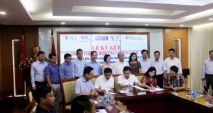 Ký kết hợp tác giữa hai trường cao đẳng Phát thanh Truyền hình với các đơn vị trong Đài tiếng nói Việt Nam và doanh nghiệp