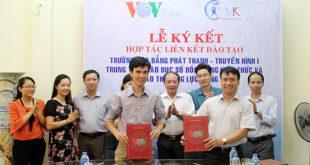 Hợp tác liên kết đào tạo giữa Trường cao đẳng Phát thanh Truyền hình I với công ty TNHH giáo dục MK