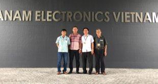 Trường Cao đẳng Phát thanh Truyền hình I thăm và làm việc với Công ty Anam Electronics Vietnam tại khu công nghiệp Đồng Văn, Hà Nam